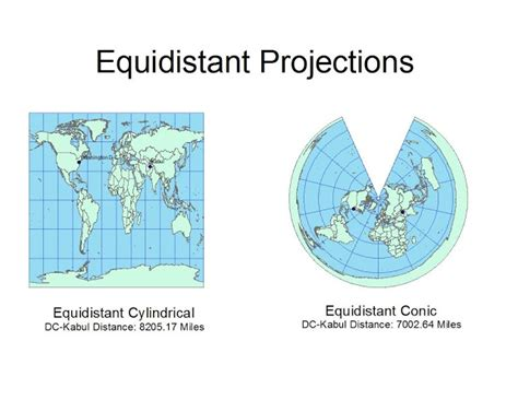 map projection definition planar map projection