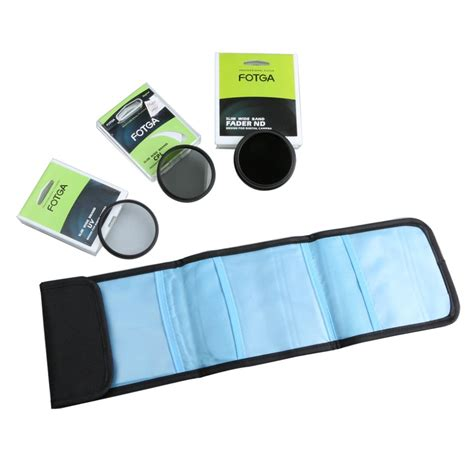 Filter Kit Slim Pro Cplmc Uv 55mm 3x fotga 55mm ultra slim uv cpl neutral density nd2 to nd400 lens filters kit in