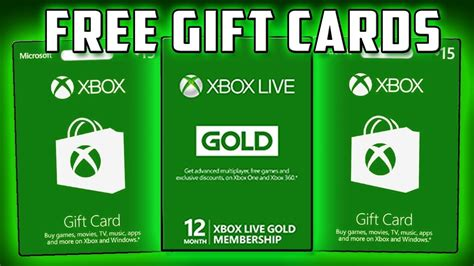 Free Xbox Gift Card Codes - how to get free xbox gift cards code less than 5 minute youtube