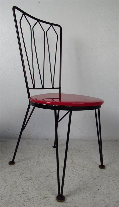 Metal Chairs Dining 1950s Metal Dining Chairs For Sale At 1stdibs