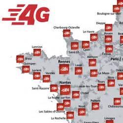 la 4g de sfr disponible dans 1 370 villes de l ouest