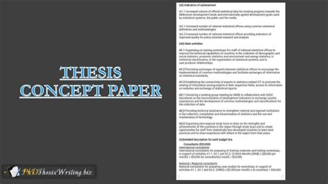 dissertation concept paper creating concept paper for dissertation articleeducation