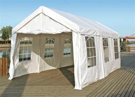 profi pavillon profi pavillon zelt partyzelt 3x6 meter pvc wei 223 ebay