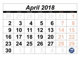 april  archives printable calendar template