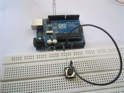 arduino resistor switch how to use a push button switch with arduino do it yourself