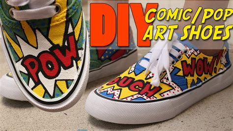 diy comic shoes diy comic pop shoes vouchalize