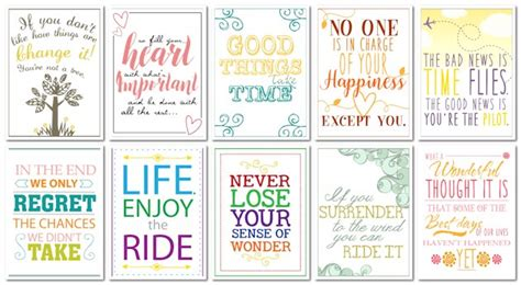 free printable quotes pdf get inspired with 10 free motivational quotes classy