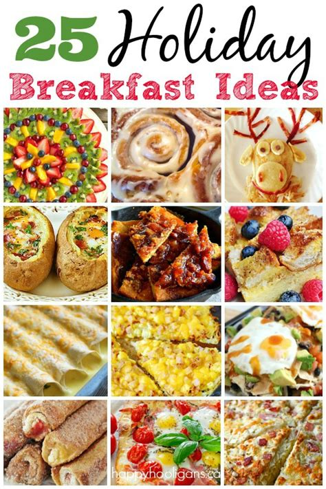 25 delicious holiday breakfast ideas happy hooligans
