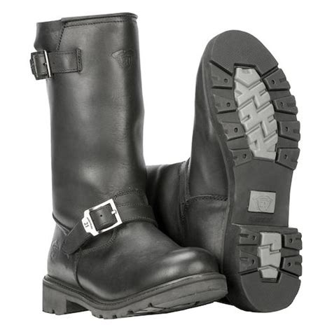 engineer style motorcycle boots highway 21 primary engineer boots revzilla