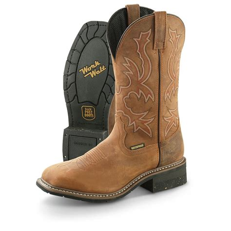 dan post s nogales waterproof square toe cowboy boots