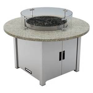 pit table propane oasis 65 000 btu granite top liquid propane pit table