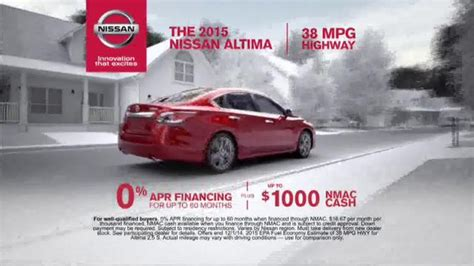 2015 nissan tv commercial actor who is the actress in the nissan altima commercial