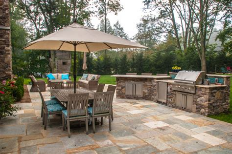 Backyard Grill And Bar Custom Outdoor Bar Bbq Grill Design Installation Bergen County Nj Traditional Patio