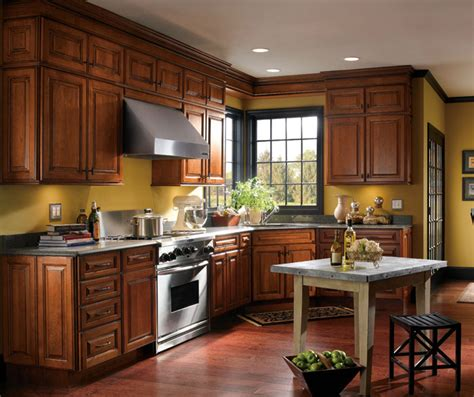 schrock kitchen cabinets traditional cherry kitchen cabinets schrock
