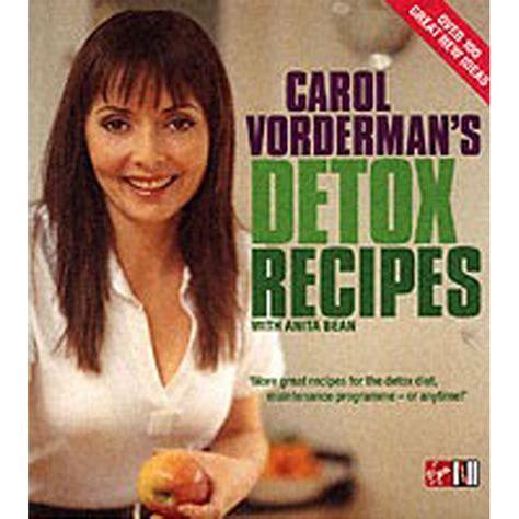 Carol Vorderman Detox Diet by Carol Vordermans Detox Recipes From Wwsm