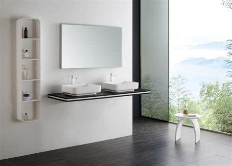 mensola per lavabo da appoggio mensola sospesa per lavabo da appoggio in mdf smart line
