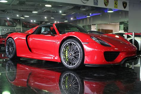 porsche 918 red porsche 918 spyder in red bright red porsche 918 spyder