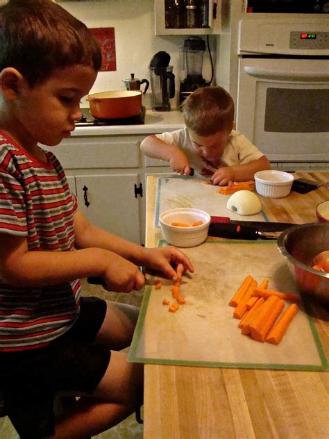 teaching your kids to use kitchen knives the truth about knife skills for little hands this pilgrim life