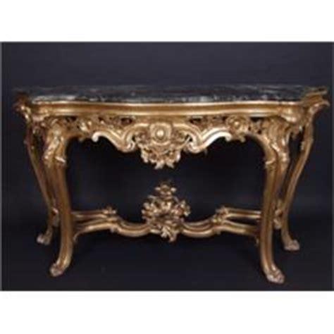 barock konsole barock konsole und spiegel weichholz geschnitzt und