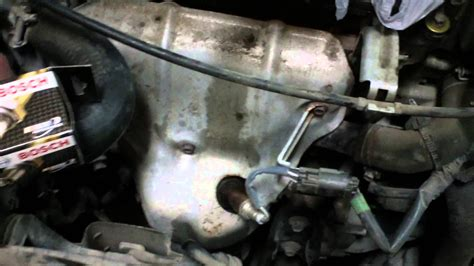 Where Is 2 oxygen sensor replacement on a nissan