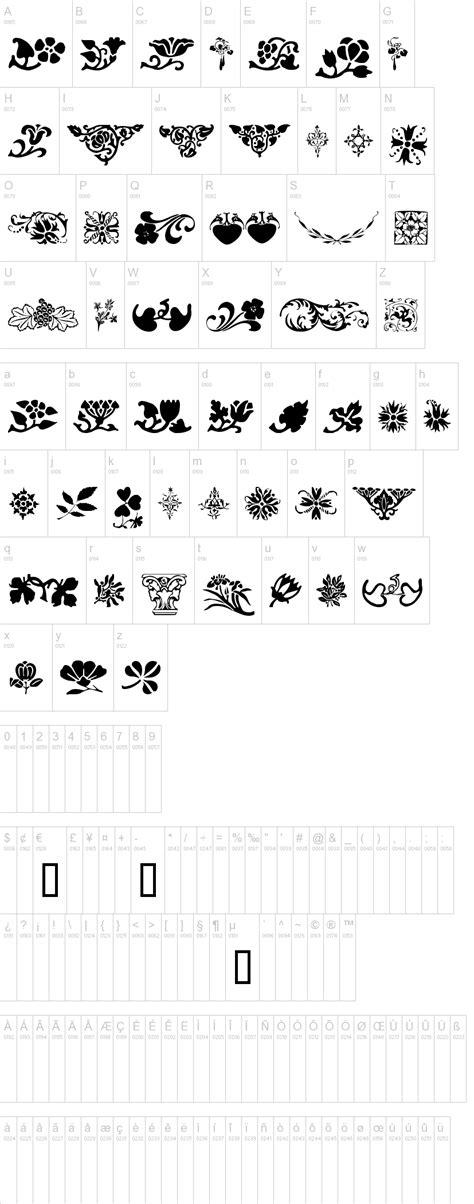 Wedding Font Ornament by Ornaments Font 100 Images Wedding Fonts Parfumerie