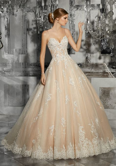 Bridal Dresses - mariska wedding dress style 8187 morilee