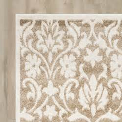 Indoor Outdoor Area Rugs Three Posts Barron Beige Indoor Outdoor Area Rug Reviews Wayfair Ca