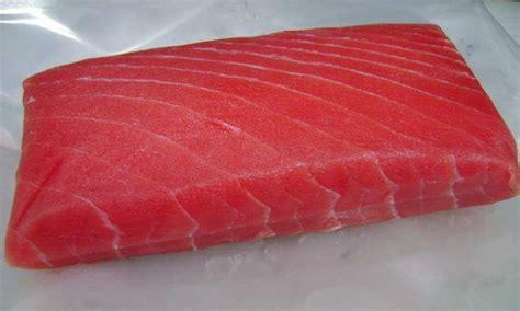 Tuna Loin Sashimi Grade frozen tuna loin sashimi grade 200g bonfisken seafood market
