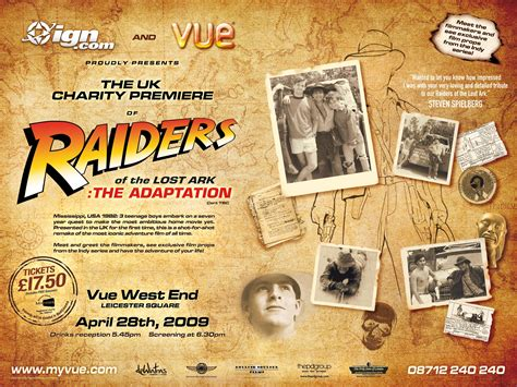 raiders of the lost ark the adaptation wikipedia the free raiders of the lost ark the adaptation charity premier