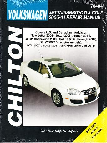 small engine service manuals 2009 volkswagen gti parking system 2006 2011 vw jetta rabbit gti golf chilton s total car care manual