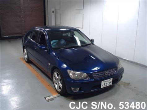 altezza car 2004 2004 toyota altezza blue for sale stock no 53480