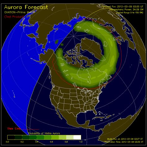 where can u see the northern lights on and the radar with cbs4 weather can i see the