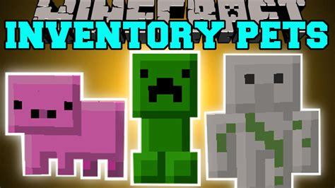 inventory pets mod  minecraft
