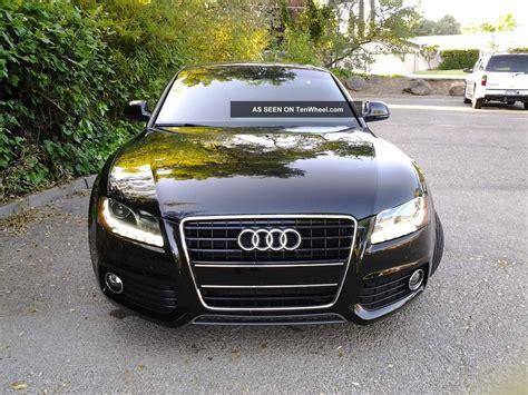 2009 audi a5 coupe 2009 audi a5 quattro s line coupe 2 door 3 2l black