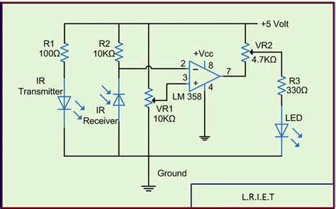 konstruksi integrated circuit ir diode detector circuit 28 images ir detector circuit using 555 timer ic technology