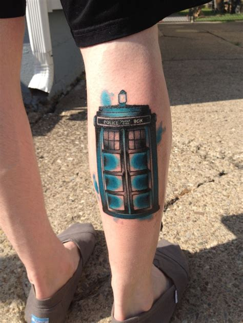 tardis tattoo discover and save creative ideas