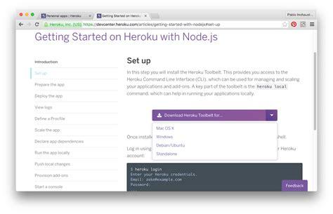 node js heroku tutorial android heroku y node js para consumir webservices java