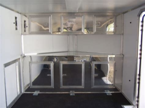 aluminum cabinets enclosed trailer base upper cabinets