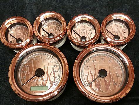 Handmade Gauges - custom harley davidson kits motorcycle gauges