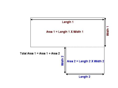 how to calculate square feet find square footage of a house home deco plans