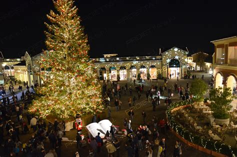 mcarthur glen christmas projections