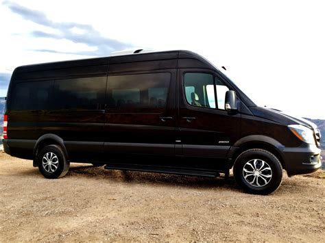 passenger mercedes benz sprinter van rental denver