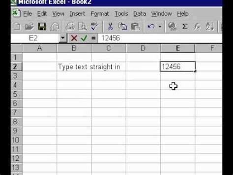Microsoft Office Spreadsheet by Microsoft Office Excel 2000 Understanding Spreadsheet