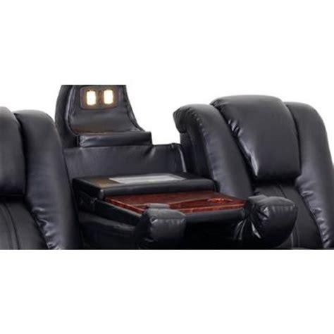reclining sofa with fold console amazon com seatcraft innovator reclining sofa with power