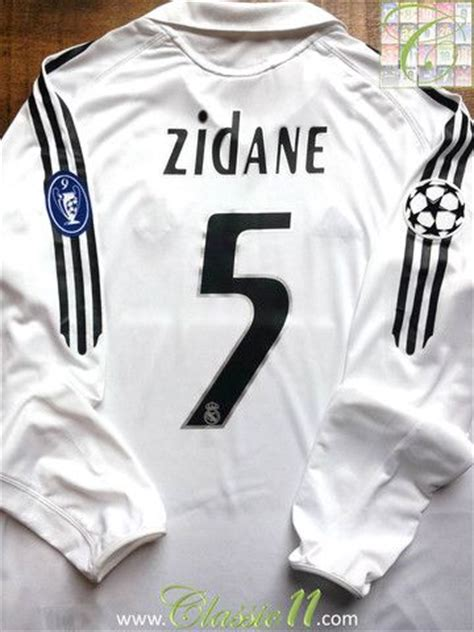 Jersey Retro Madrid By Maniakbola relive zinedine zidane s 2005 2006 european season with
