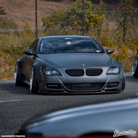 stancenation bmw m6 bmw e63 m6 grey widebody bmw bmw cars and