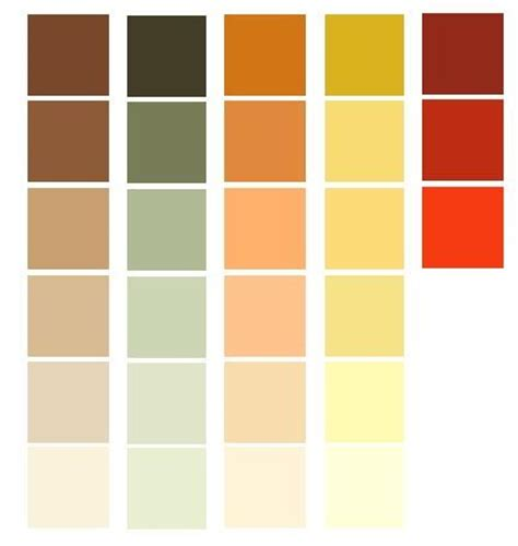 interior house paint color hue earth tones color palettes for a prairie style room the first are
