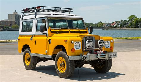 1972 land rover 88 series ii for sale muted