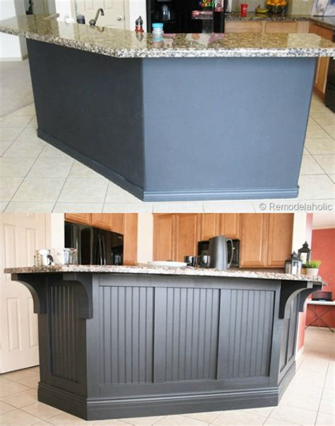 kitchen island corbels remodelaholic fabulous kitchen island makeover part one