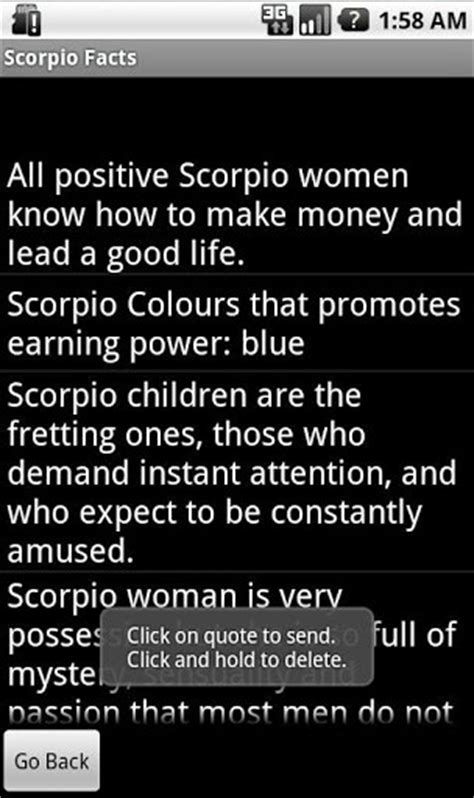 download scorpio traits and qualities for android appszoom